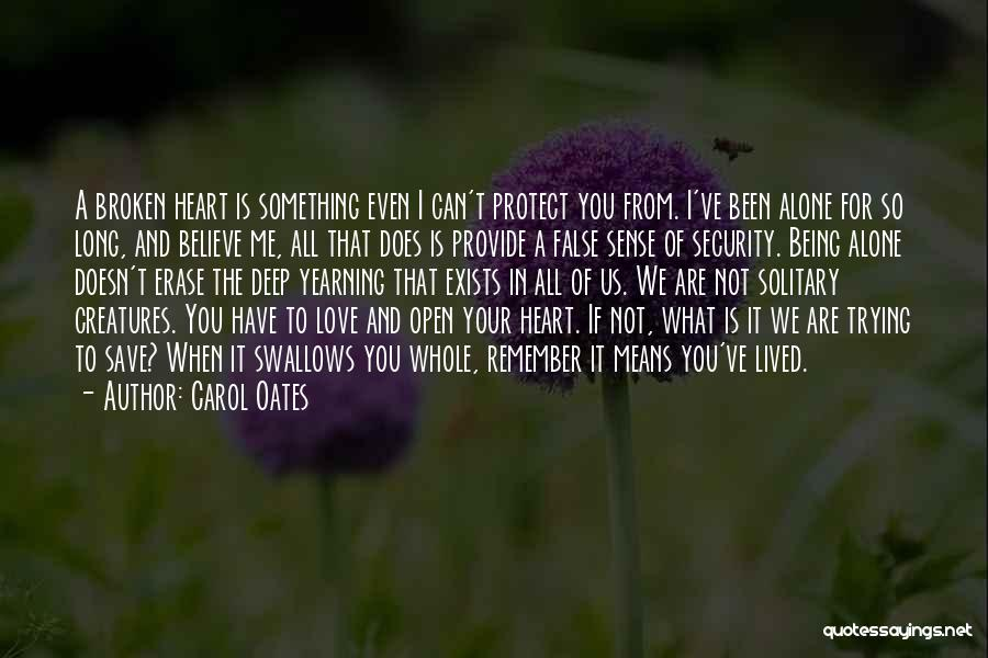 Provide And Protect Quotes By Carol Oates