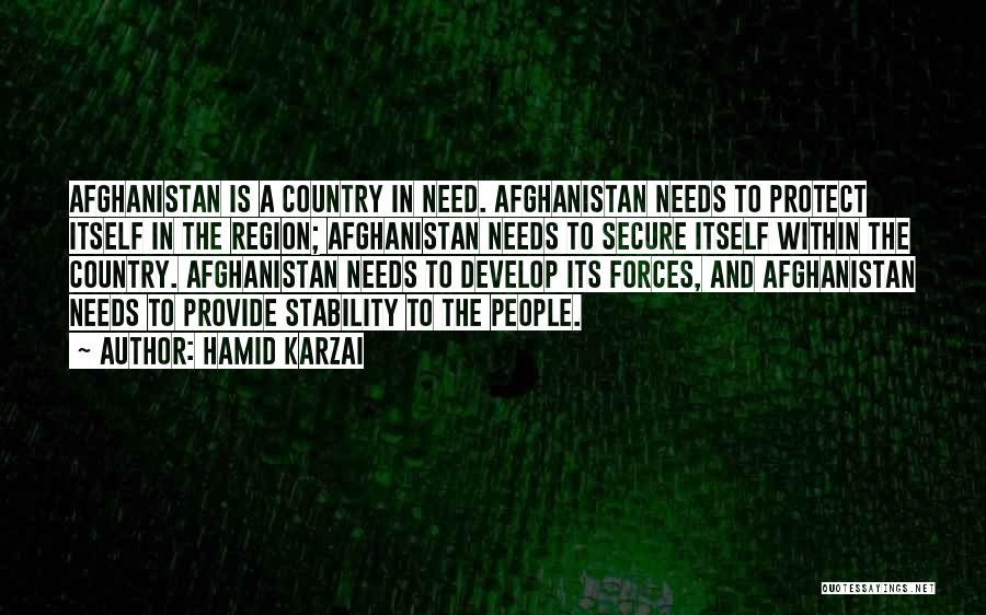 Provide And Protect Quotes By Hamid Karzai