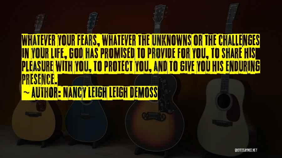 Provide And Protect Quotes By Nancy Leigh Leigh DeMoss