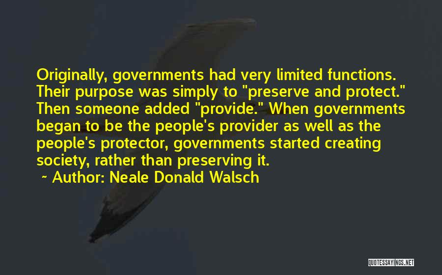 Provide And Protect Quotes By Neale Donald Walsch