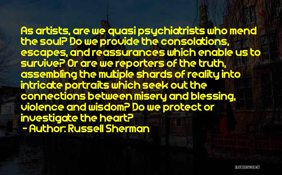 Provide And Protect Quotes By Russell Sherman