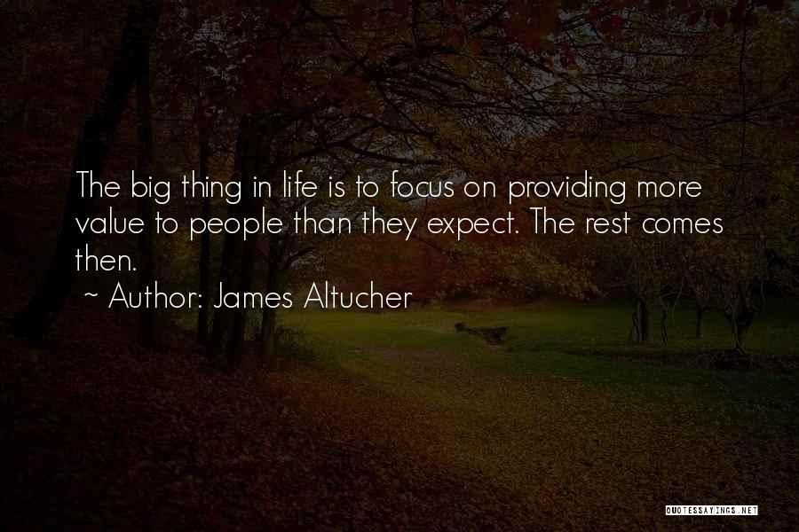 Providing Value Quotes By James Altucher