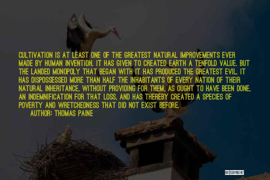 Providing Value Quotes By Thomas Paine