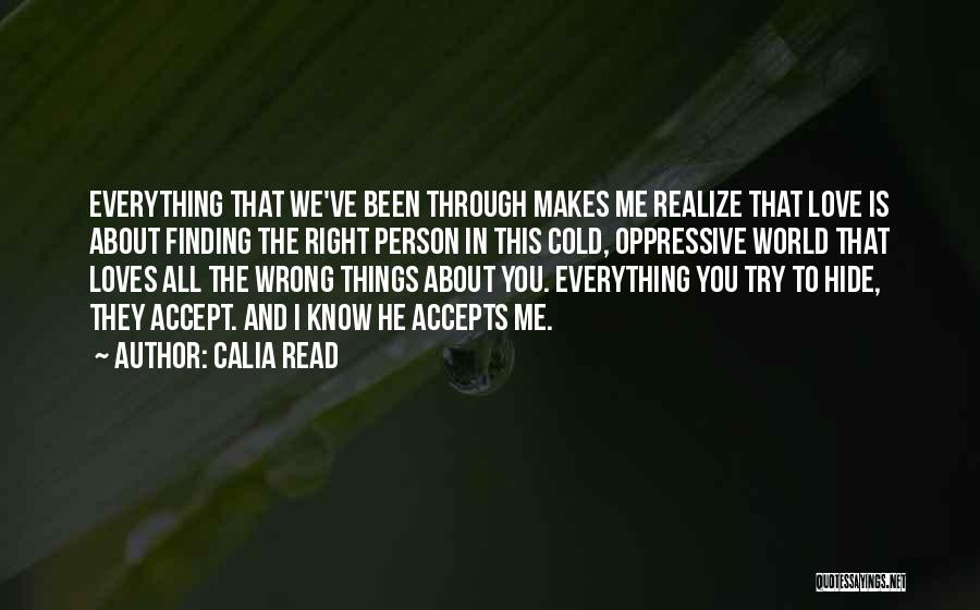 Prudence Cummings Wright Quotes By Calia Read