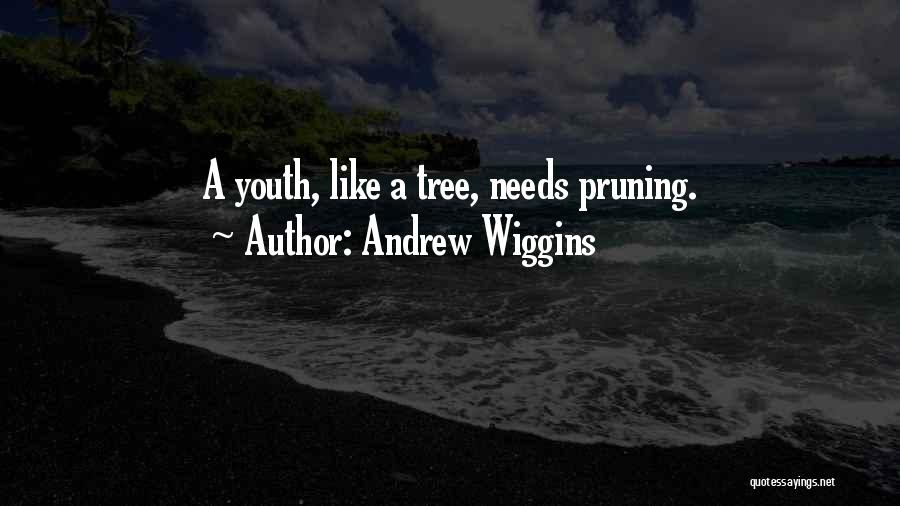 Pruning Quotes By Andrew Wiggins
