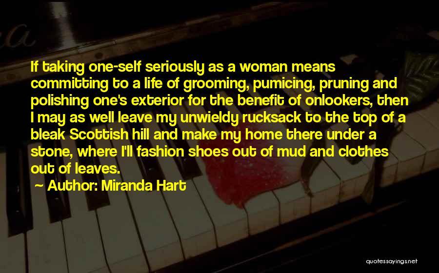 Pruning Quotes By Miranda Hart