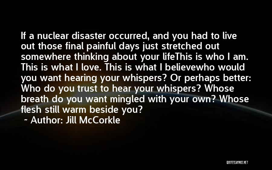 Ps Love Quotes By Jill McCorkle