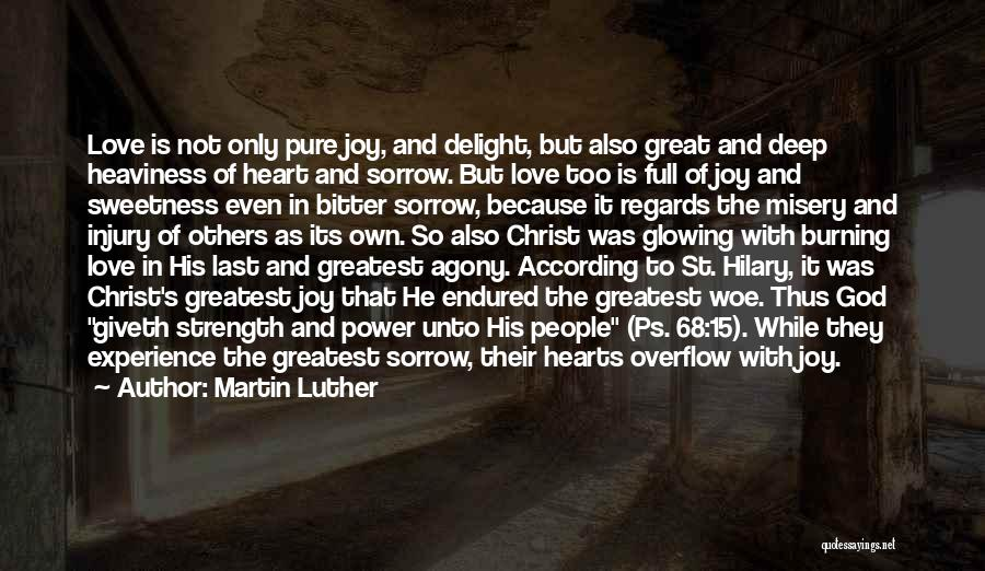 Ps Love Quotes By Martin Luther