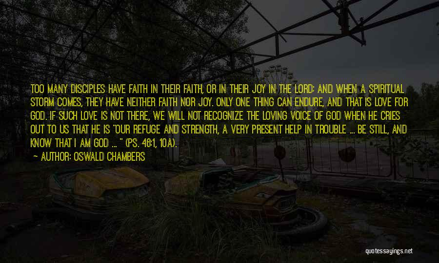 Ps Love Quotes By Oswald Chambers