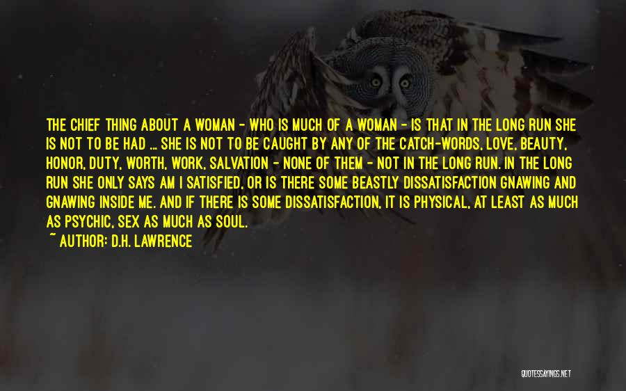 Psychic Love Quotes By D.H. Lawrence