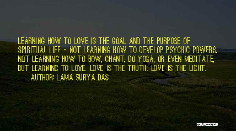 Psychic Love Quotes By Lama Surya Das
