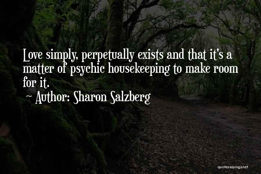 Psychic Love Quotes By Sharon Salzberg