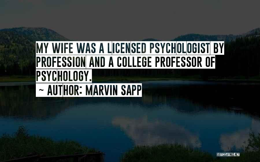 Psychologist Quotes By Marvin Sapp