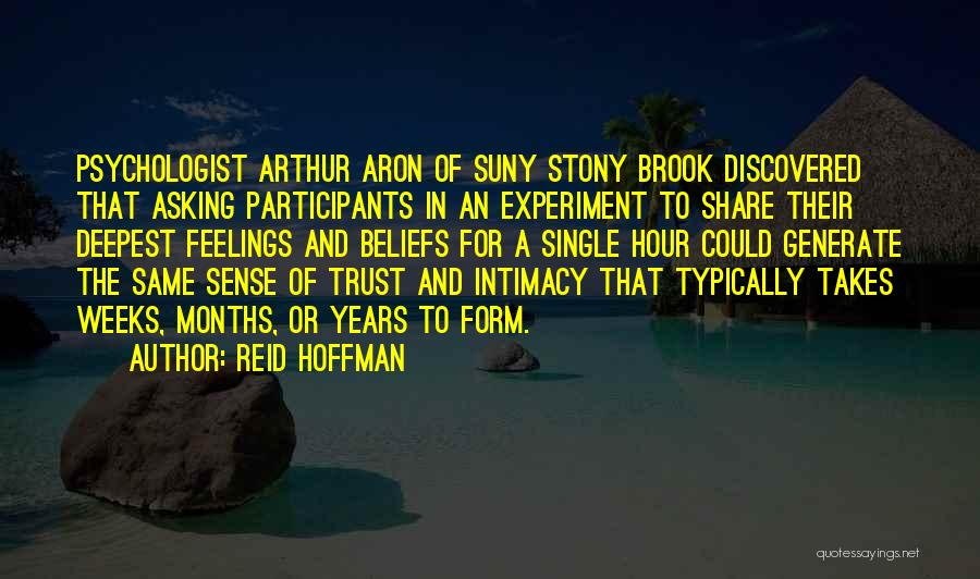 Psychologist Quotes By Reid Hoffman