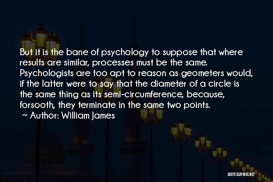 Psychology By Psychologists Quotes By William James