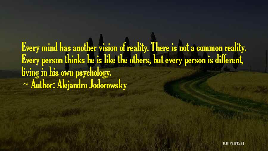 Psychology Quotes By Alejandro Jodorowsky