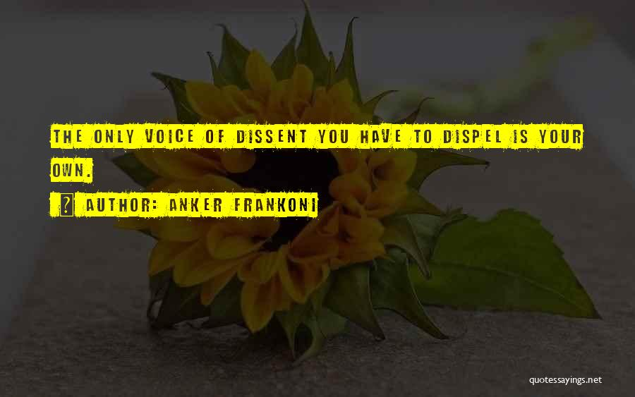 Psychology Quotes By Anker Frankoni