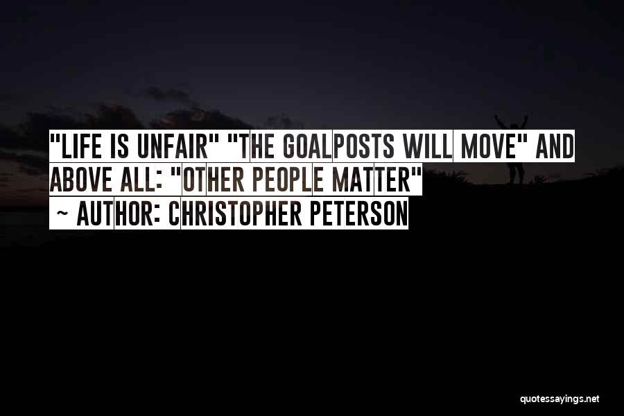 Psychology Quotes By Christopher Peterson