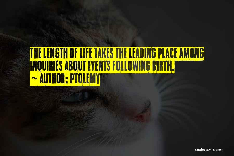 Ptolemy Quotes 642708