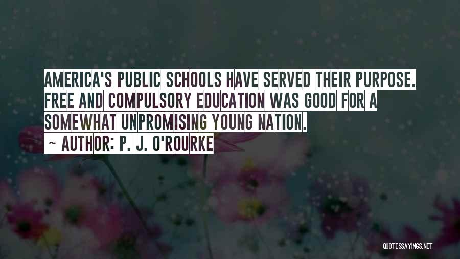 Public Education In America Quotes By P. J. O'Rourke