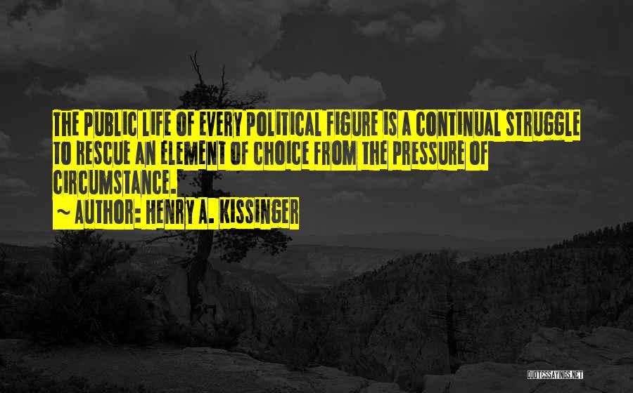 Public Figure Quotes By Henry A. Kissinger