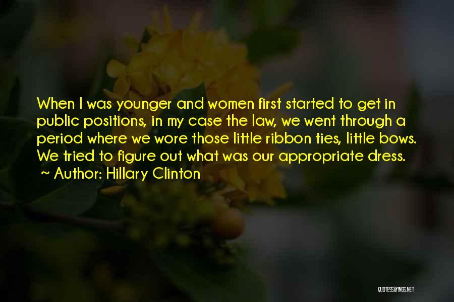 Public Figure Quotes By Hillary Clinton