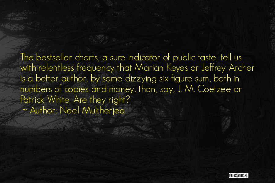 Public Figure Quotes By Neel Mukherjee
