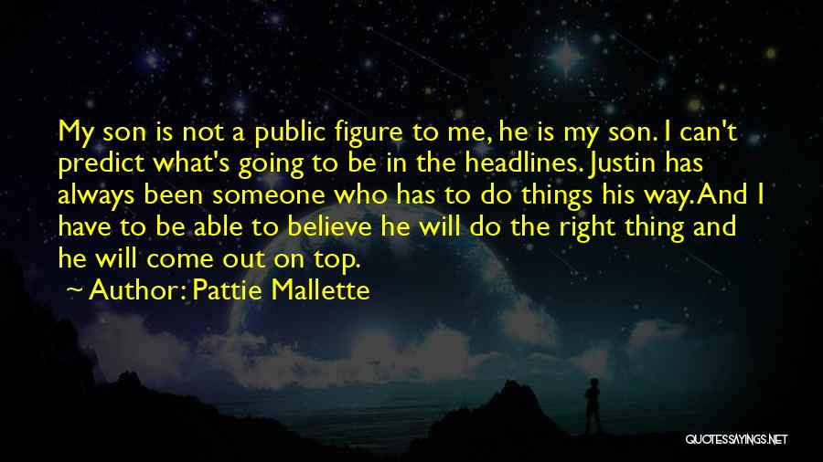 Public Figure Quotes By Pattie Mallette