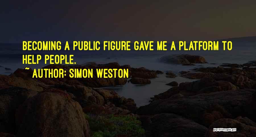 Public Figure Quotes By Simon Weston