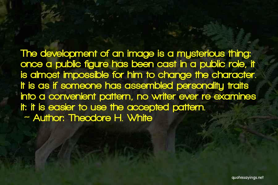 Public Figure Quotes By Theodore H. White