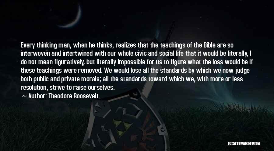Public Figure Quotes By Theodore Roosevelt