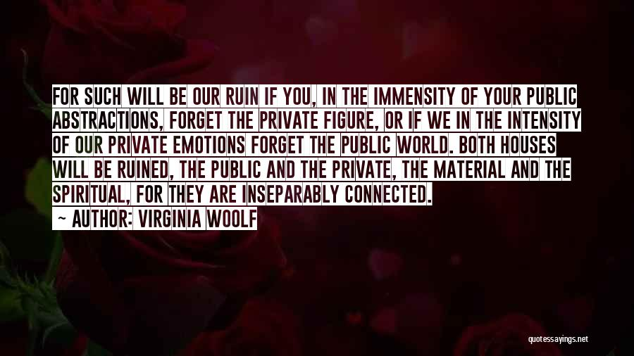 Public Figure Quotes By Virginia Woolf