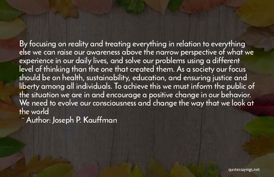 Public Health Education Quotes By Joseph P. Kauffman