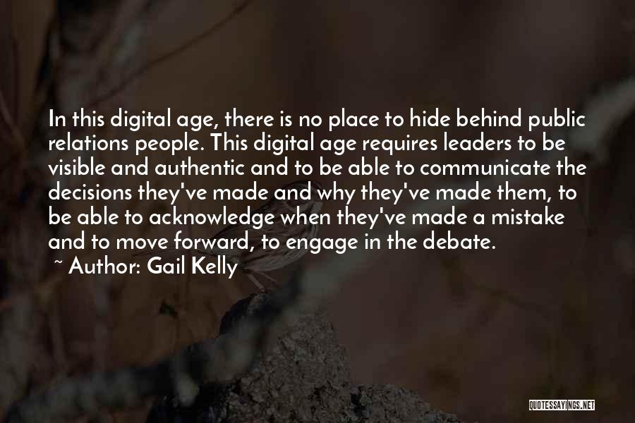 Public Relations Quotes By Gail Kelly