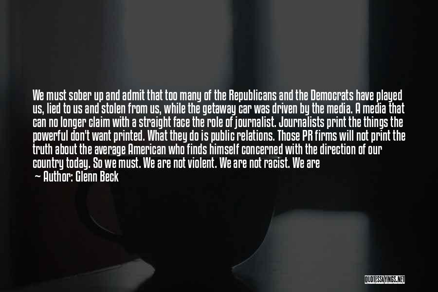 Public Relations Quotes By Glenn Beck