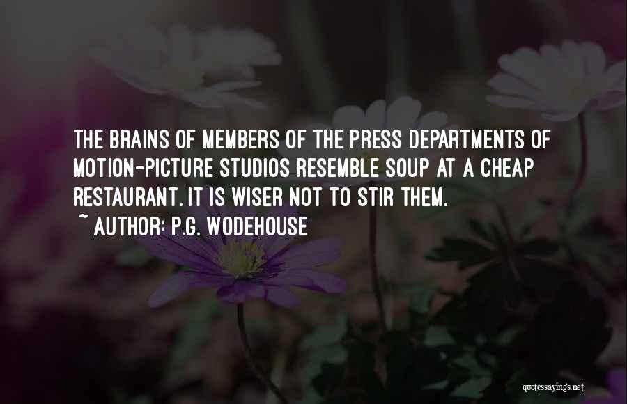 Public Relations Quotes By P.G. Wodehouse