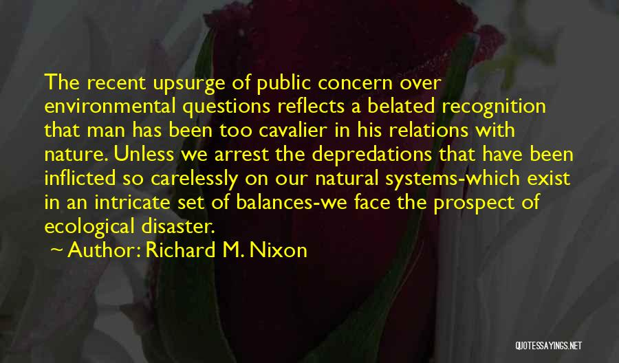Public Relations Quotes By Richard M. Nixon