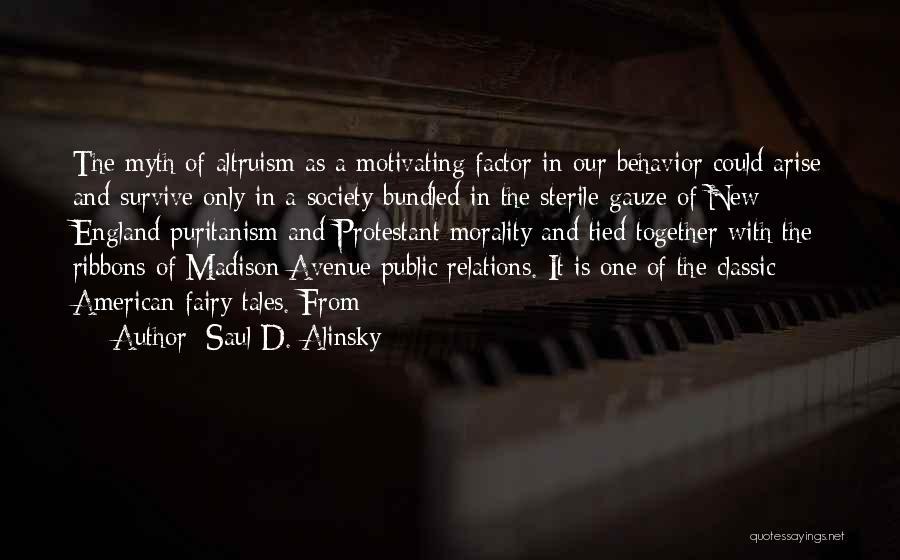 Public Relations Quotes By Saul D. Alinsky