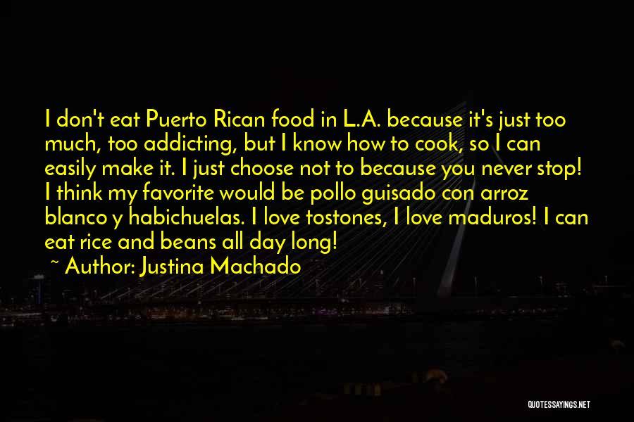 Puerto Rican Day Quotes By Justina Machado