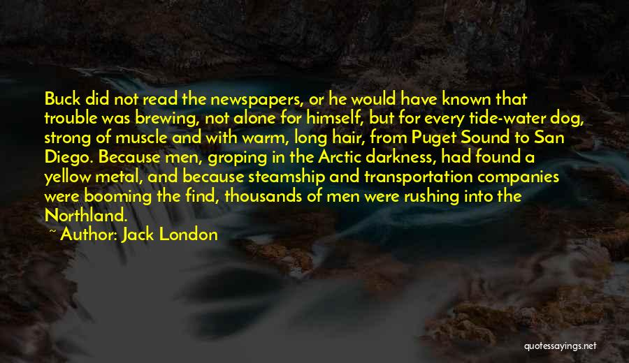 Puget Sound Quotes By Jack London