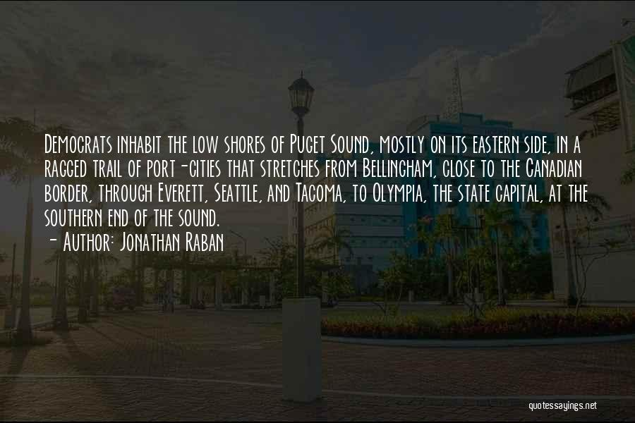 Puget Sound Quotes By Jonathan Raban