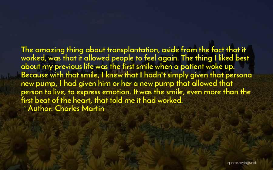 Pump It Quotes By Charles Martin