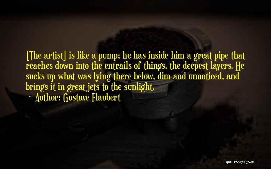 Pump It Quotes By Gustave Flaubert