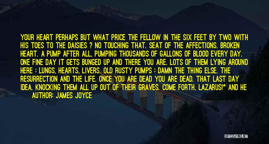Pump It Quotes By James Joyce