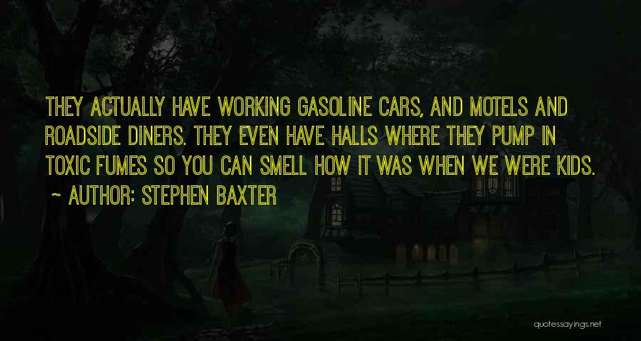 Pump It Quotes By Stephen Baxter