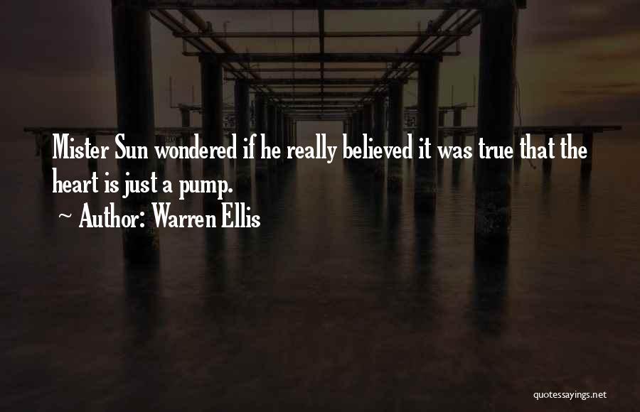 Pump It Quotes By Warren Ellis