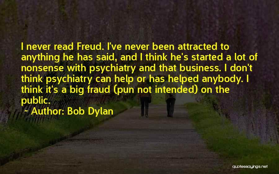 Pun Quotes By Bob Dylan