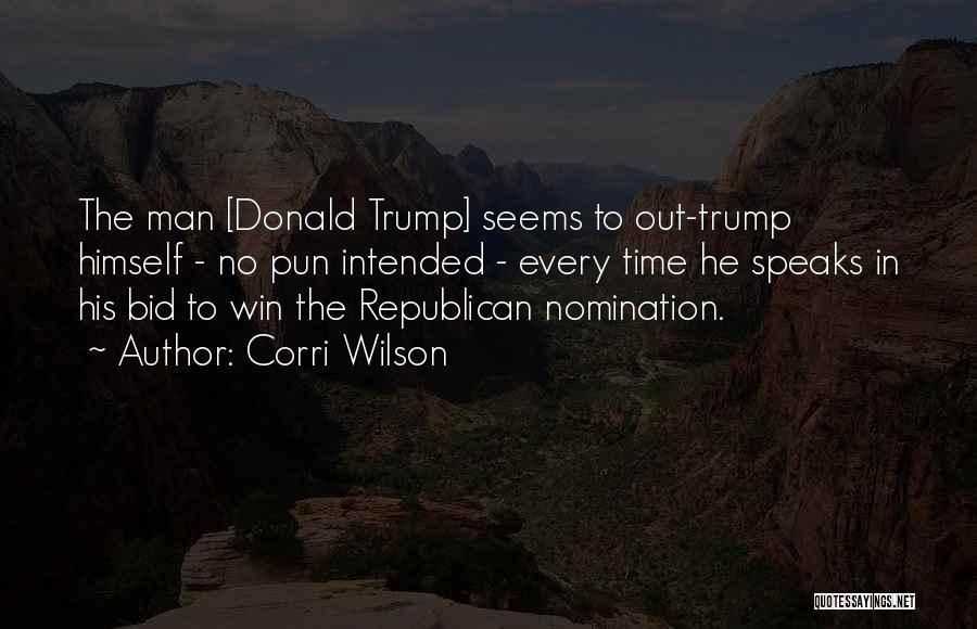 Pun Quotes By Corri Wilson
