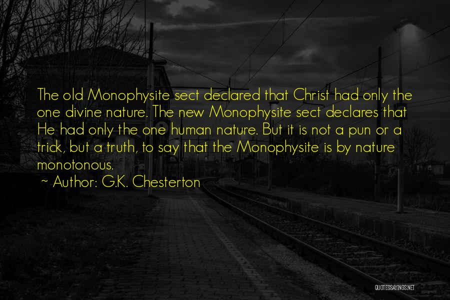 Pun Quotes By G.K. Chesterton