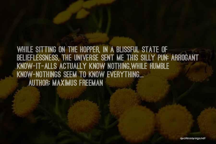 Pun Quotes By Maximus Freeman